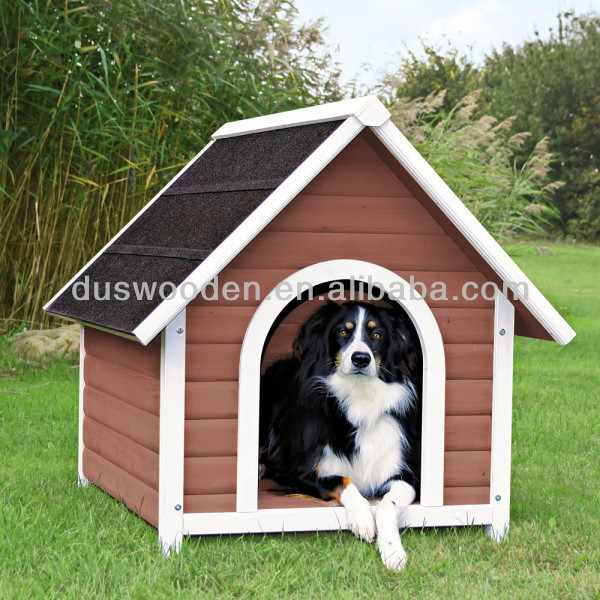 A-Frame roof dog kennel Wooden pets house