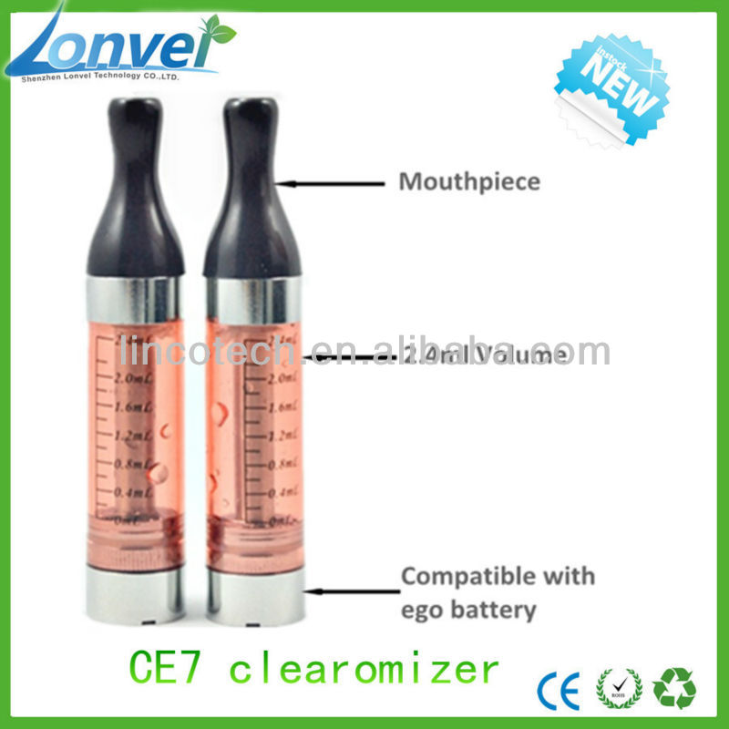 2.4ml CE7 clear atomizer