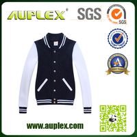 New fashional college crane sports jacket latest design jacket for men