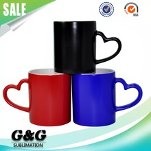 11oz Sublimation Blank Cups Heat Sensitative Color Changing Thermos Mugs