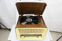 Manufacture high quality USB turntable record player vinyl turntable