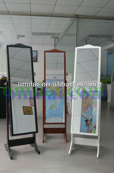 2013 fashion jewelry armoire big mirror wholesale