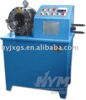 Multi-functional Hose Crimping Machine with hose skiving function (DSG51A&B)