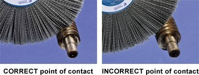 Hot sales USA stainless steel industrial brush for Dremel Tool