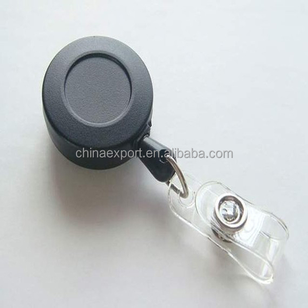 Wholesale Alibaba Hot Sale Retractable Name Card ID Badge Reel
