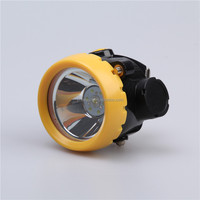 ATEX/CE LED wireless miner cap lamp KL1.2LM(A) miner cap lamp wireless cap lamp