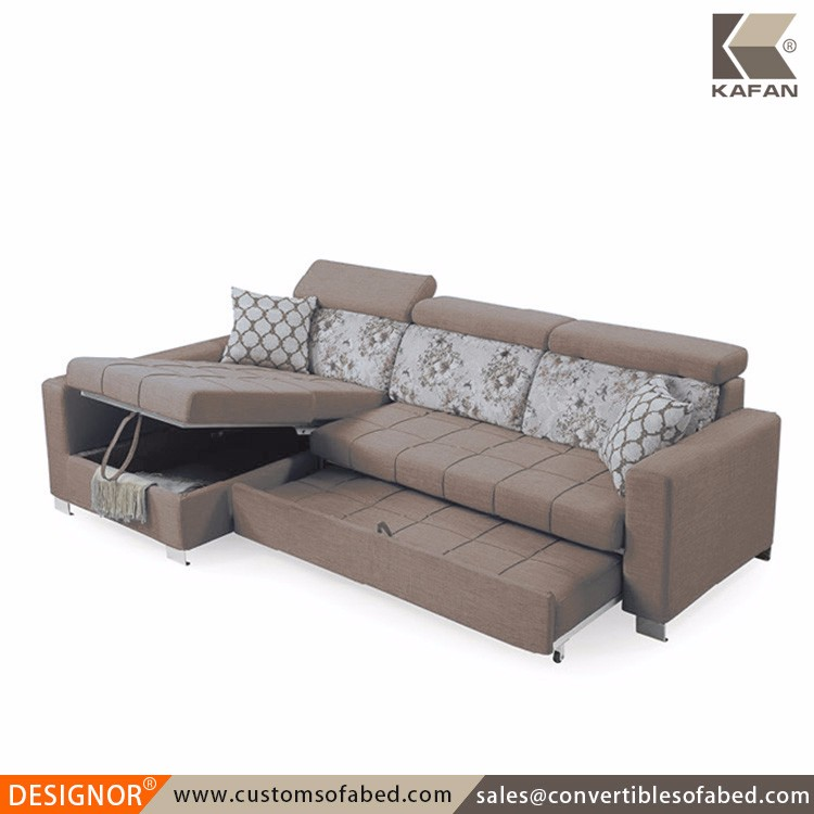Sale corner modern design sofa cum bed with storage
