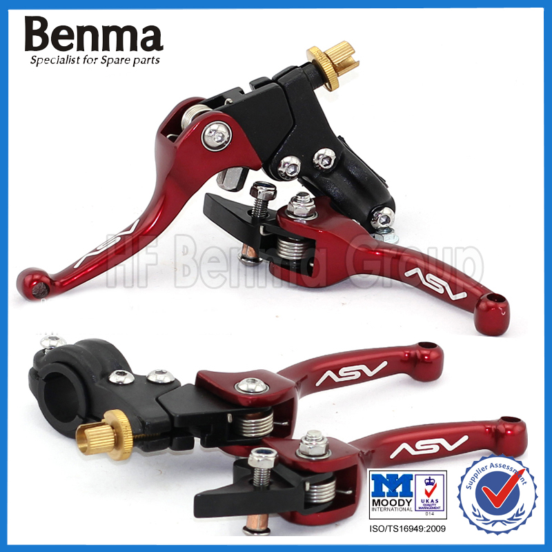 High Recommended CNC Parts Red ASV Motorcycle Clutch Brake Lever