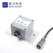 ZCSENSOR ZCT245-FDA tilt switch with programable alarm angle for chassis levelling of aerial lifts