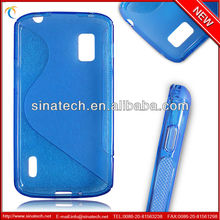 "ONLY $0.55 ""s""style TPU waterproof case for nexus 4, case for iphone is available, factory direct sale"