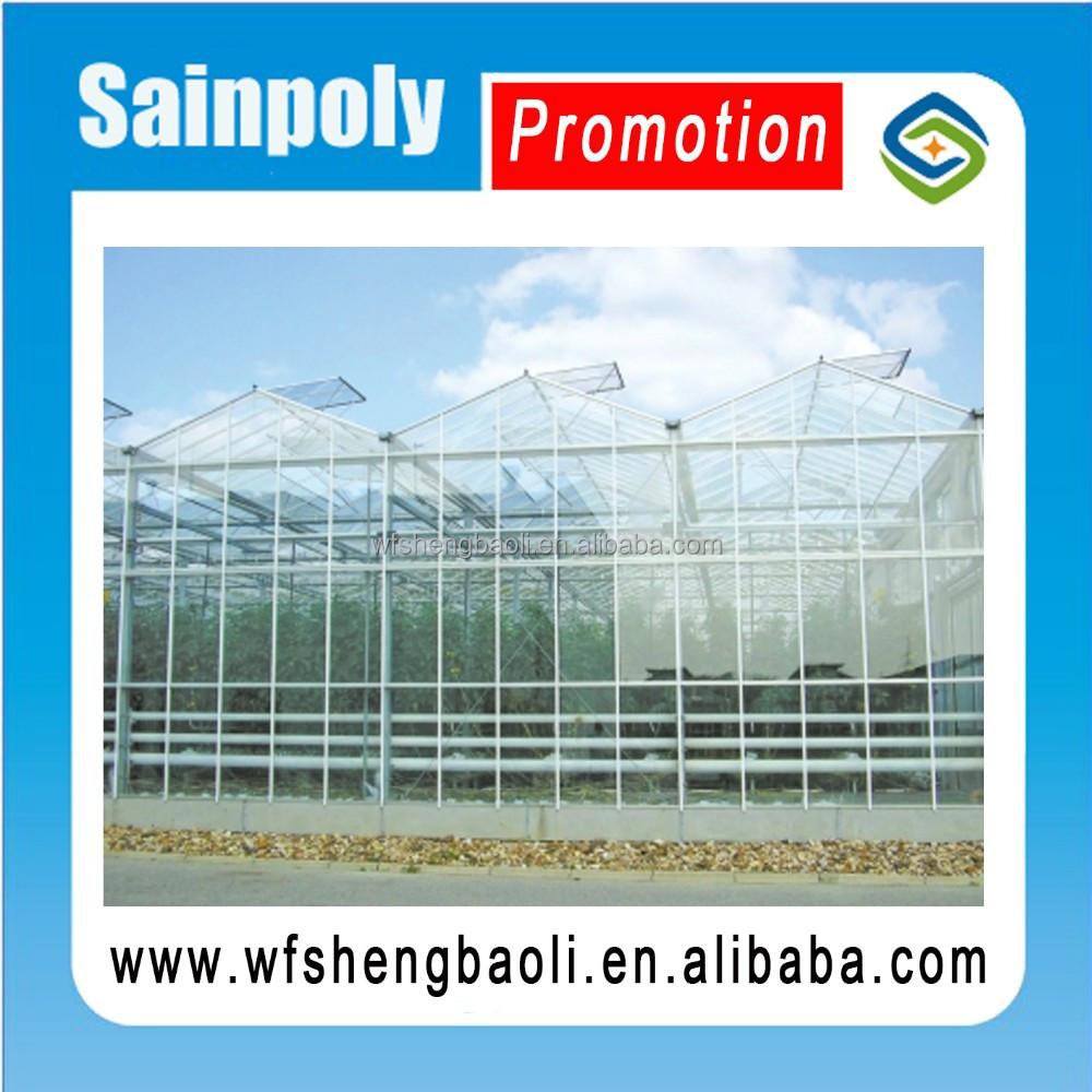 Multi span Greenhouse Roof Ventilation System