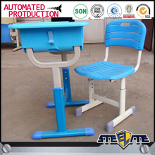 Kids furniture wholesale single student desk and chair