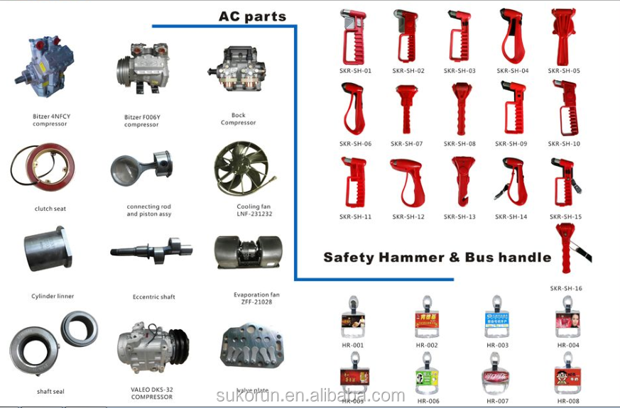 kinglong spare parts