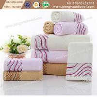 100% cotton velvet pile with flower embroidery face towel
