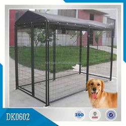 Factory Supplied 1.5m*3m High Quality Powder Coated Outdoor Dog Kennel for Large Breed Dog