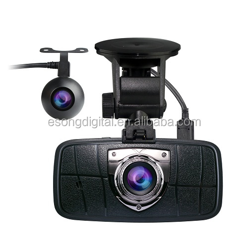 Car Black Box 2 Channel Dash Cam Full HD 1080P 30FPS Ambarella A7LA70 3MP Sensor Dash Camera WDR Optional GPS G-Sensor