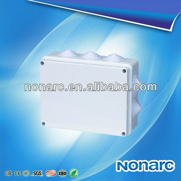 NO-BA 200*155*80mm Pvc Europe Waterproof Electrical Box Cover
