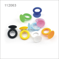 Portable Silicone Mobile Ring Stand Cell Phone Holder silicone ring suction cup holder silicone suction holder for mobile phone