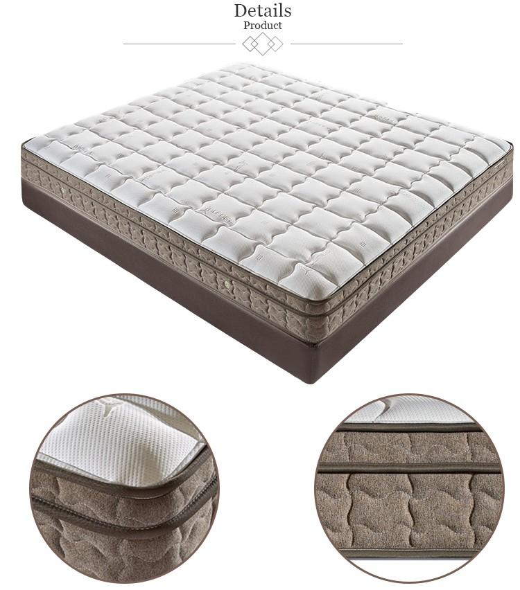 Punk new design luxurious cheap bedroom set beds memory foam mattress - Jozy Mattress | Jozy.net