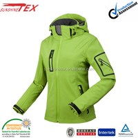 windstoper soft shell breathable ski woman outdoor jacket coats