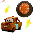 Hot Selling Soft Cars Changed Into Tyre Cushion Reversible Plush Toy
