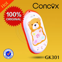 Mobile phone signal tracker mini kids gps tracker GK301