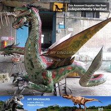 MY Dino-A24 Customized productions realistic animatronic dragon for sale