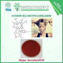 Low price Vitamin B12 Methylcobalamin B12 Vitamin Powder CAS No.:68-19-9
