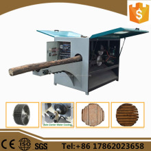 Wood Cutting Machine,Multi Rip Round Log Saw Machine in china
