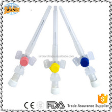 FDA Approved Medical IV Cannula Catheter with Injection port and wings