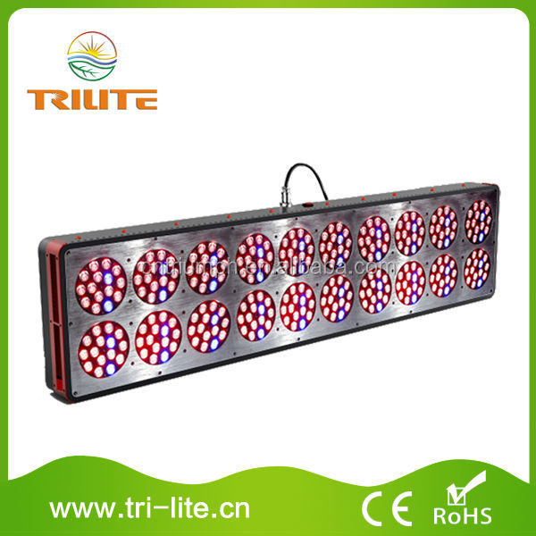 Low Power Consumption Red and Grey Shell 730W LED Lights Grow for Indoor Planting
