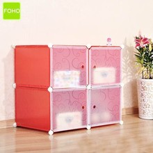 4 cubes cd/dvd storage cabinets with 2 depth size option(FH-AW0412-4)