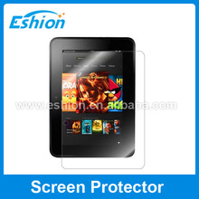 Clear screen protector For Amazon Kindle Fire HD 7.0 2012 wholesale price OEM/ODM
