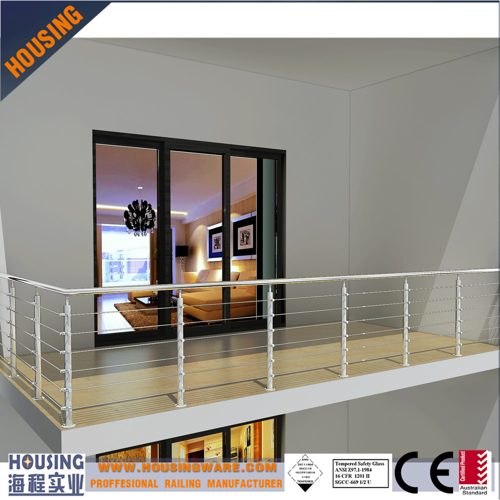 balusters_dubai stainless steel railings_balcony railing ideas