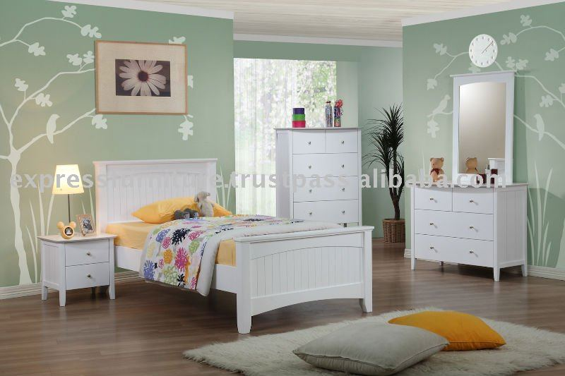 wei e schlafzimmer m bel kinderm bel set produkt id 113217306. Black Bedroom Furniture Sets. Home Design Ideas