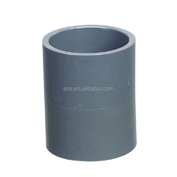 ERA brand PVC SCH40 Pipe Fitting Adaptor Coupling,NSF-pw Certificate,ASTM D2466