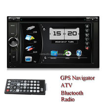 "2din <strong>dvd</strong> universal 6.2"" touch screen new design with BT/TV /GPS"