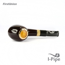 New design novelty smoking pipe with push button 1300 puffs big vapor pipe e-cigarette