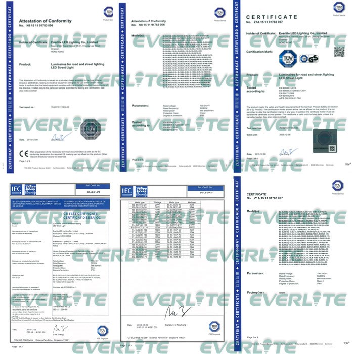 Everlite Hot Selling 30W LED Street Light With Good Quality