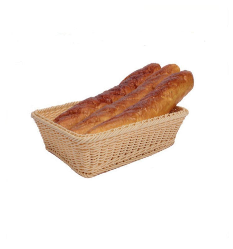 Factory hot offer 100 percent food grade hand woven retangular and round bread basket