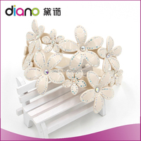 Fashion Jewelry Flower Fancy Headbands For Baby Girls