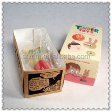 plastic cartoon vinyl toy OEM To make than the rabbit for kids