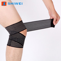 Adjustable hinged elastic knee support for sale
