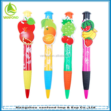 Cute promotional top quality giant ball pen for children