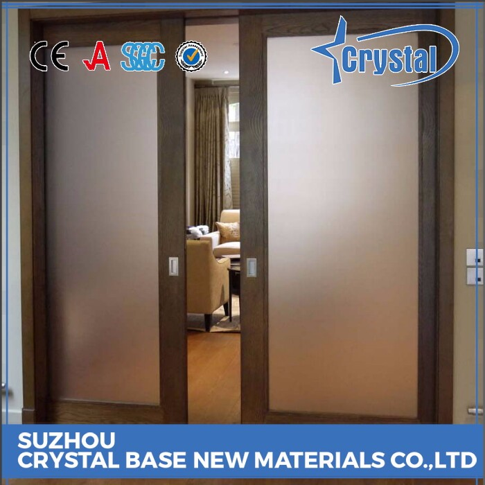 Top Supplier Decorative Bathroom Door Glass