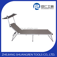 Top level design portable folding recliner bed
