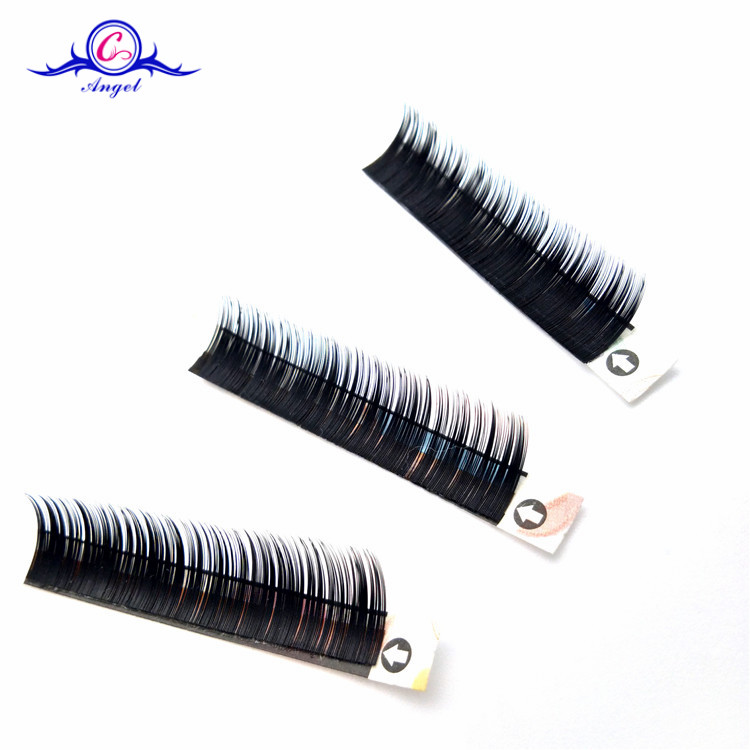 Private Label Silk Eyelash Extension Custom Eye Lashes