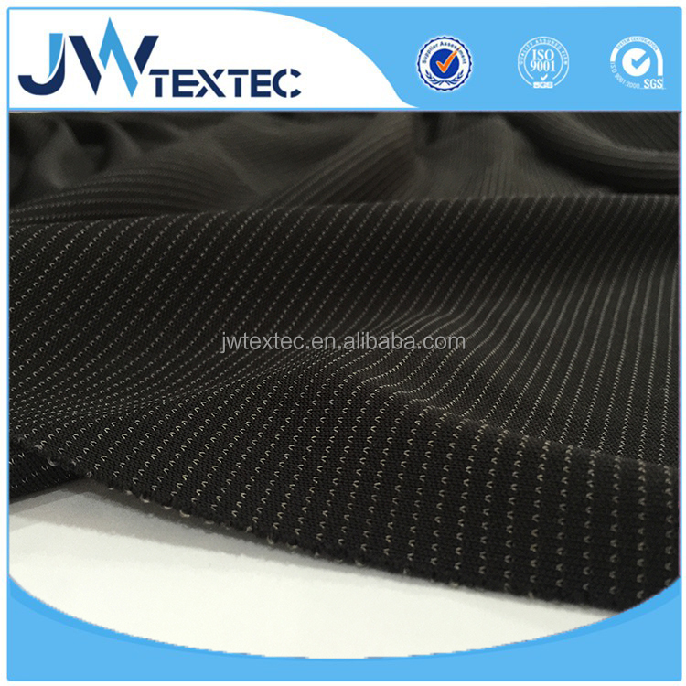 Silver Fiber Fabric Anti Radiation EMI Shielding Conductive Fabric Knit Fabric 7%Silver Fiber