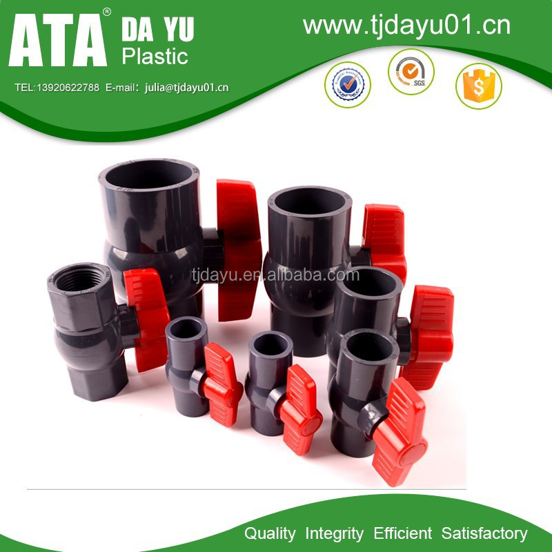 PVC pipe swing check valve