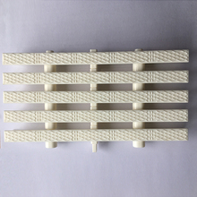 Hot selling plastic anti slip three holes type swimming pool gratings 8 inches